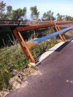 Aanpassing RVS leuning fietsbrug A4-2