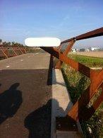 Aanpassing RVS leuning fietsbrug A4-3