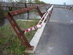 Aanpassing RVS leuning fietsbrug A4-5