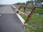 Aanpassing RVS leuning fietsbrug A4-6