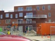 Overhangend balkonbordes werk BAM Saendelft-5