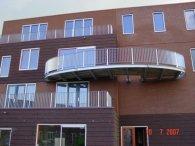 Overhangend balkonbordes werk BAM Saendelft-8