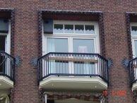 Sierhekwerk tbv gerenoveerde panden Amsterdam-5