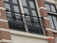 Sierhekwerk tbv gerenoveerde panden Amsterdam-8