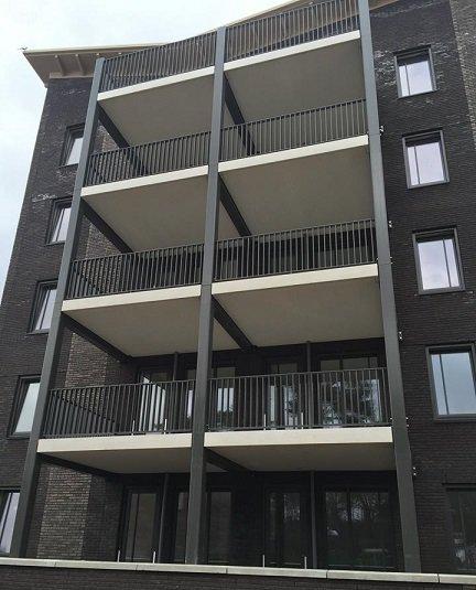 Balkonhekwerk Kramer Staaltechniek